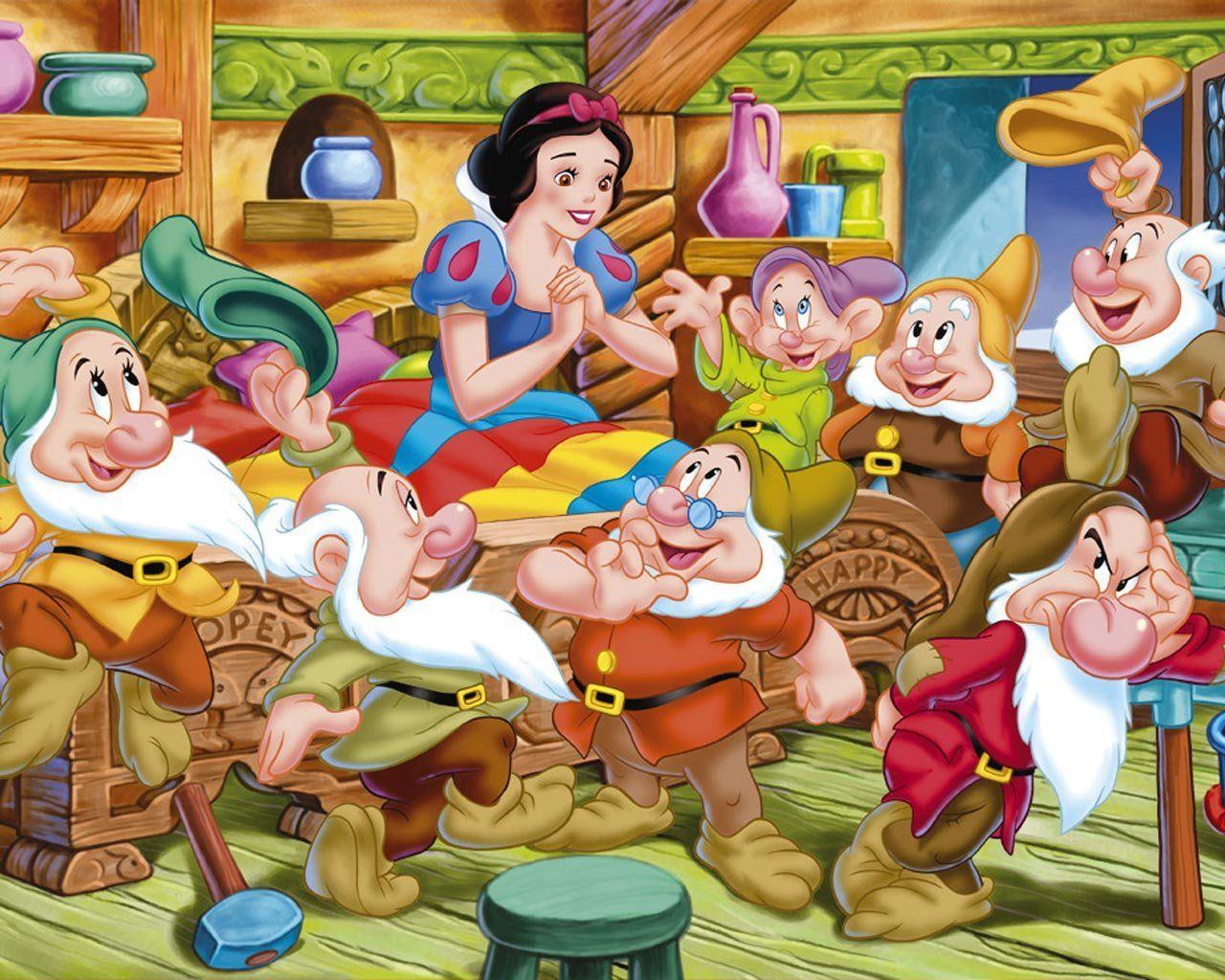 Some Cute Guys Blancanieves Y Los Siete Enanitos Blancanieves Walt Disney Pictures