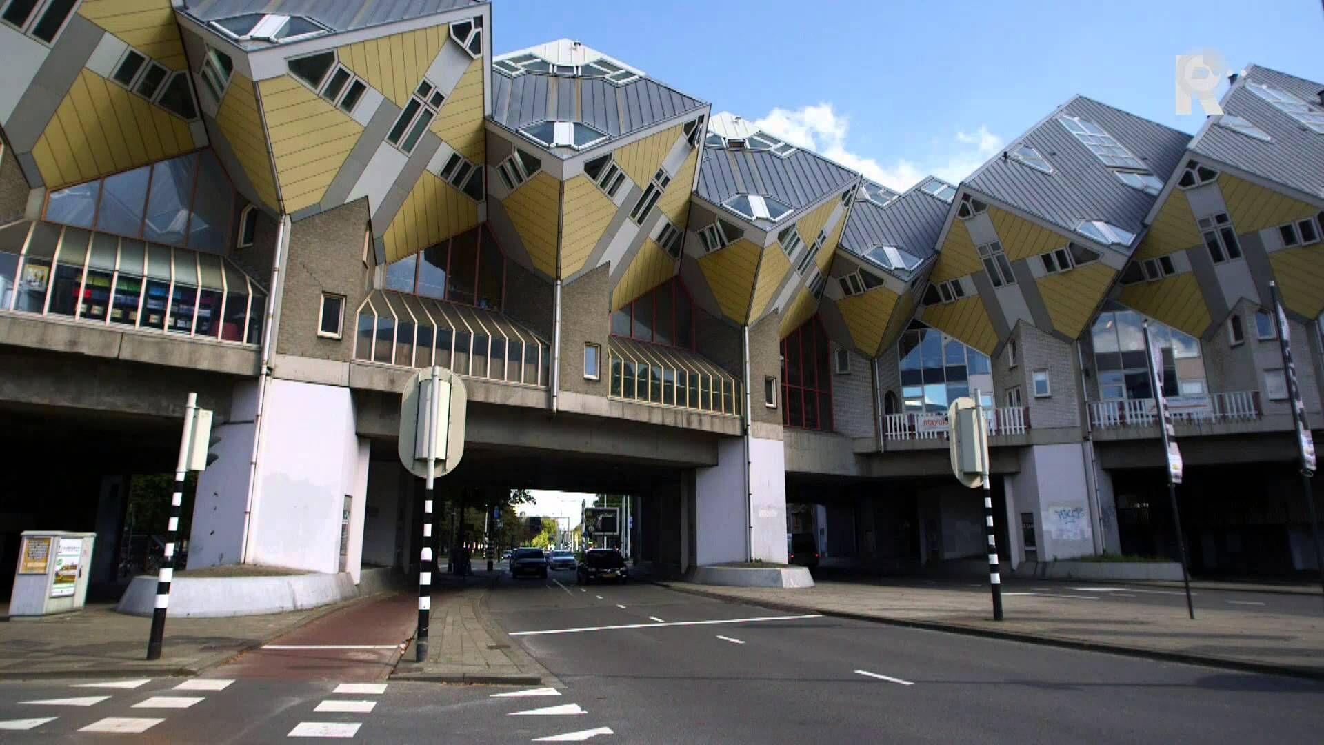 Verhalen van Staal en Steen - Kubuswoningen Rotterdam