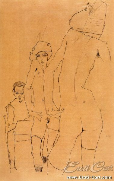 Erotic nude couples