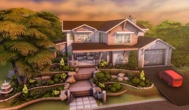 I built a dream family home in brindleton bay 🤍
