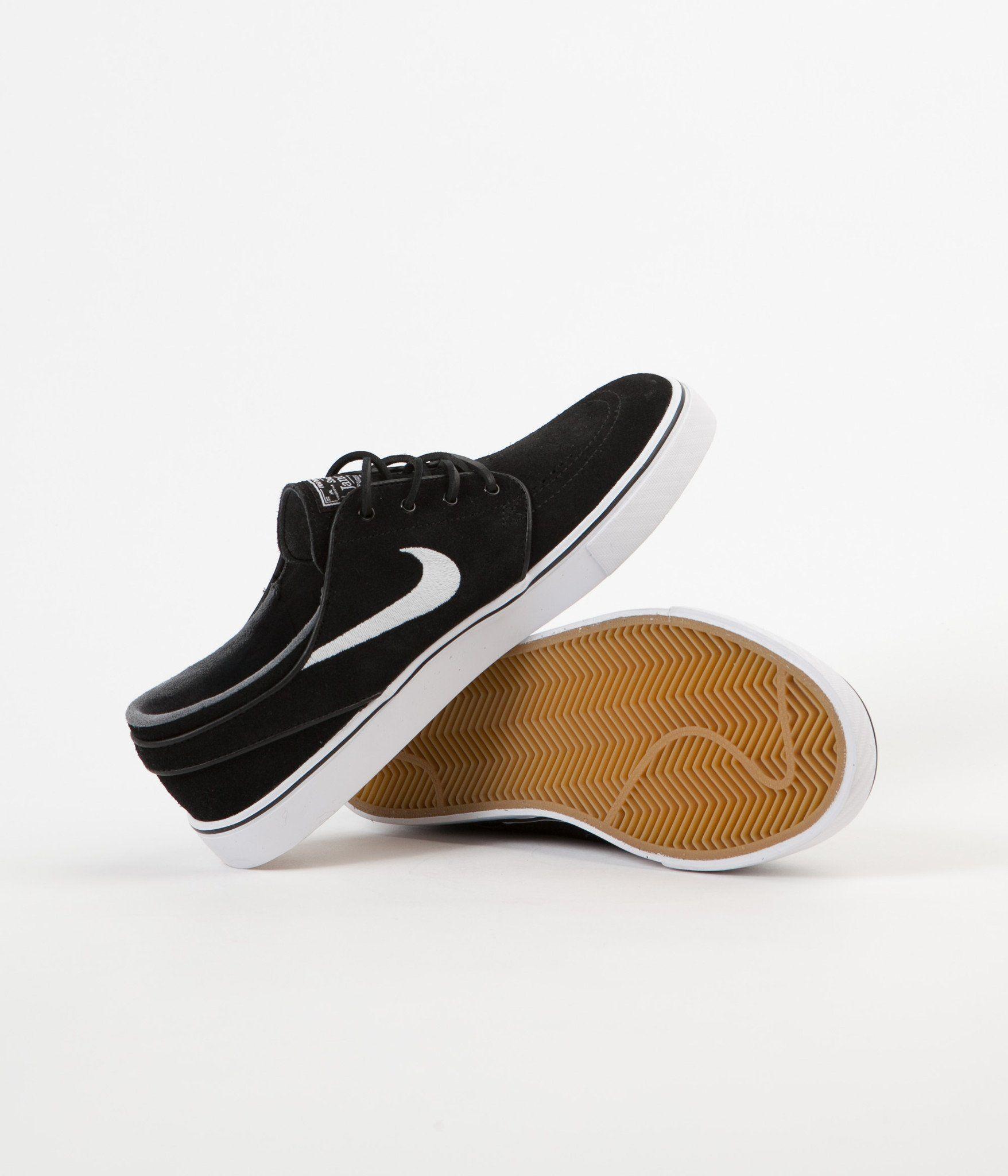 Nike Sb Stefan Janoski Og Shoes Black White Gum Light Brown Black Shoes Nike Sb Stefan Janoski