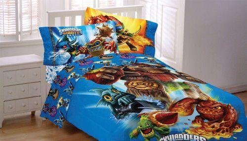 Skylanders Spyro Adventure Sky Friends 3pc Twin Bed Sheets 2015