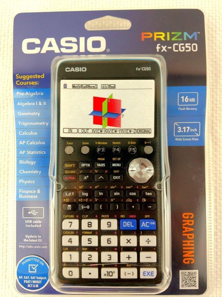 Casio FX-CG-50 Colour Graphic Calculator