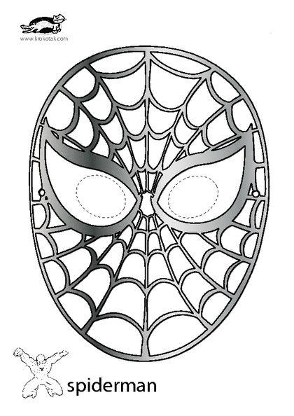 Spider-Man mask | Art deco cake, Background design vector ...
