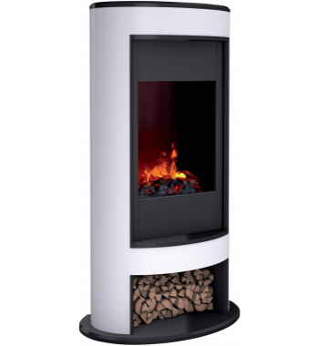 Dimplex 2kw Opti Myst 3d Electric Fire Heater Mocca Electric