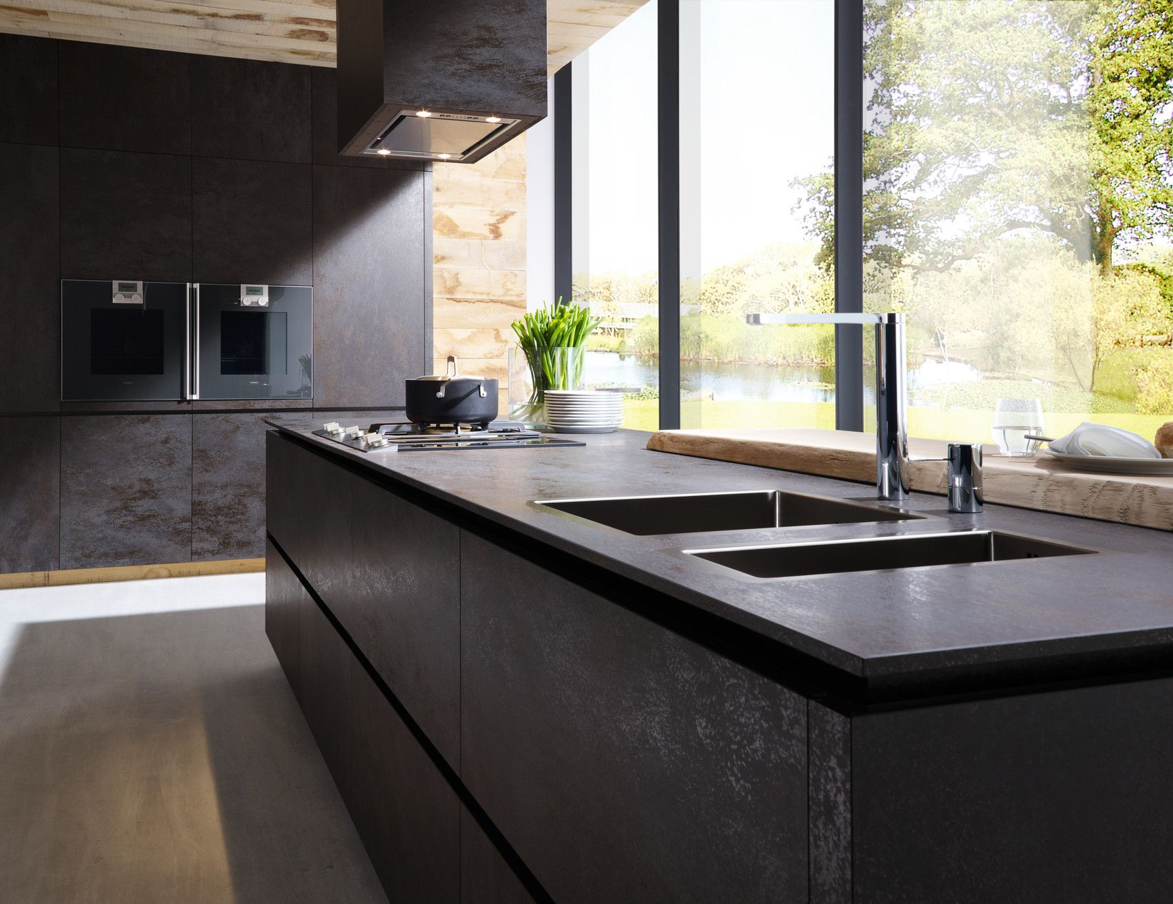 About alno modern kitchens on pinterest modern kitchen cabinets - Alno Ceramic Front Kitchen Have Seen This In Real Just Stunning