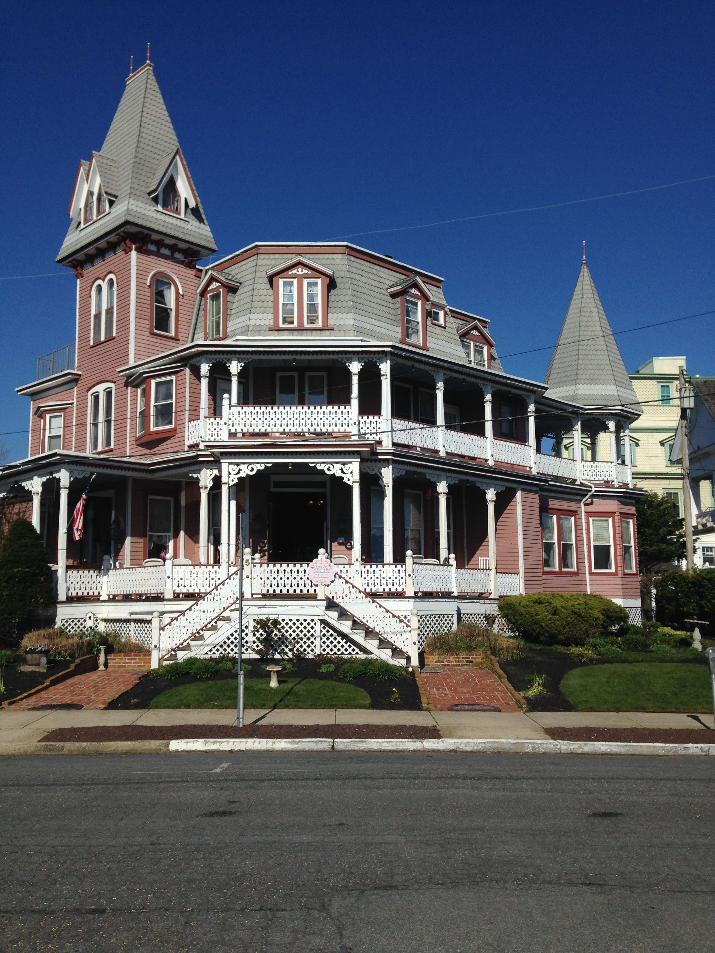 Angel of the Sea, bed and breakfast. Cape May New Jersey