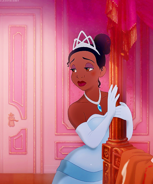 Poor Tiana...it took a lot to get her resturant. But her hard work paid off! :D