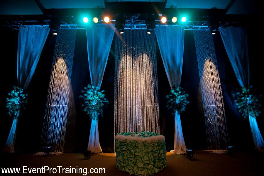 Draping Ideas For Wedding Ceremony