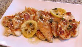 Healthy Chicken Piccata