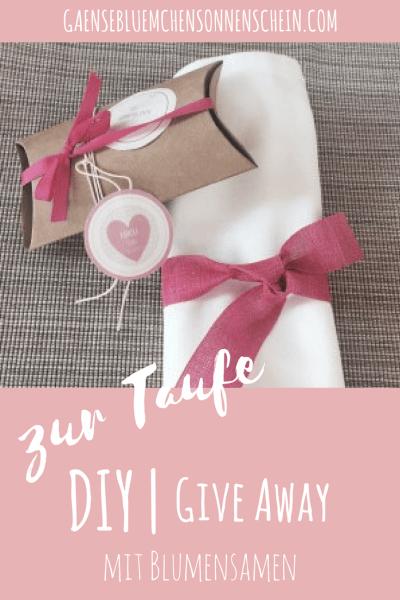 Bezaubernde Give Aways Für Die Taufe Mein Mamablog Pinterest