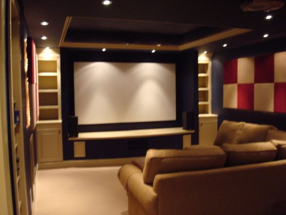 17 best images about home theatre on pinterest theater rooms screens and art deco home - Home Theater Room Design Ideas