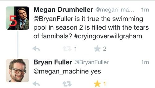 *CRIES HARDER* #Hannibal