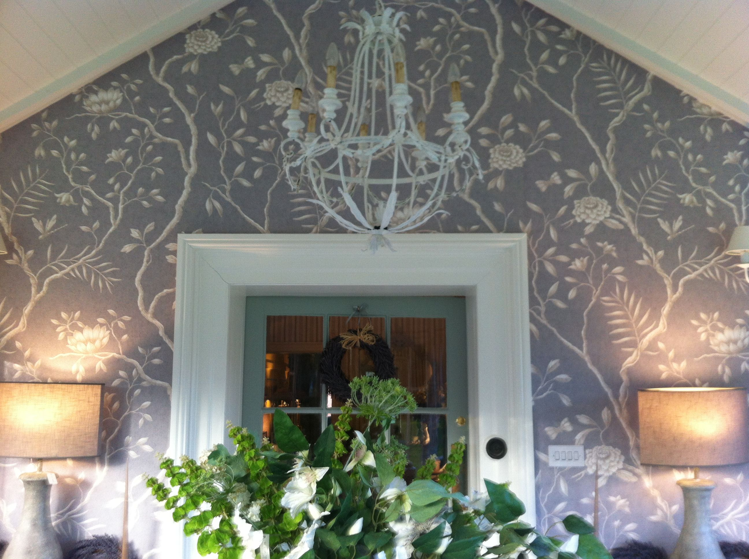 Our New Look Beautiful Lewis And Wood Wallpaper In Our