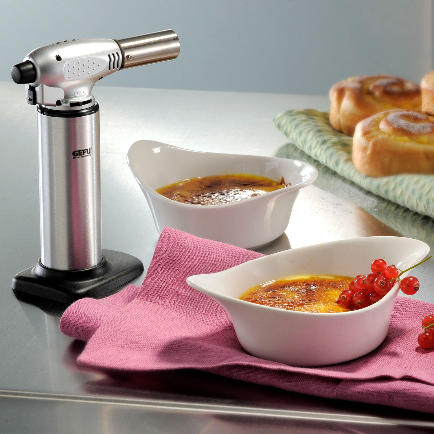 You can now prepare amazing desserts like the crème brûlée at home by using the rosle kitchen torch. Kitchen Torch   Kitchen torch, Au gratin, Quality kitchens