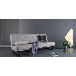 Photo of Sofa with sleeping function in gray 'Esther' BessagiBessagi
