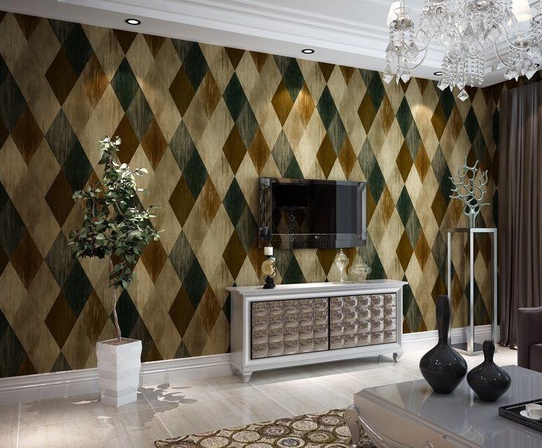 Afbeeldingsresultaat voor behang keuken badkamer | tv kast wand ...