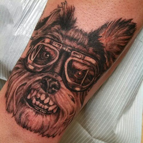 Halaah Io Best Tattoo Designs For Men: #steampunk Scotty #tattoo @the_real_matt_io @cooltattoos