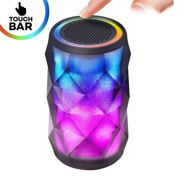Newest Diamond Design Portable Smart Touch Lamp Portable Speaker Bluetooth Speaker With Led Touch Bar View Touch Lamp Quran Speaker Jhc Tech Product Details F Speaker Bluetooth Speaker Touch Lamp