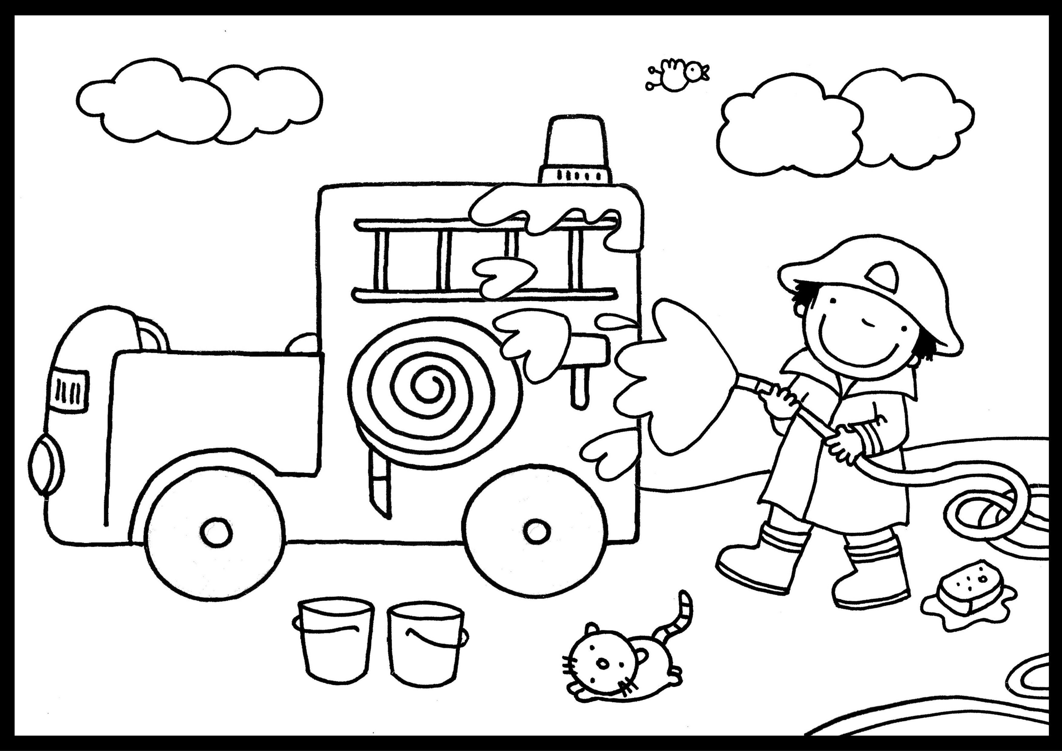 Uit Het Boek Het Brandweermannetje Http Www Unieboekspectrum Nl Boek 9789000346158 Het Brandweermannetje 6 99 Brandweerman Vervoer Thema Brandweer