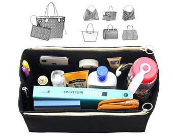 Customizable L.V. Bag Organizer (w  Double Zipper Pockets) c3dbe022c6b7