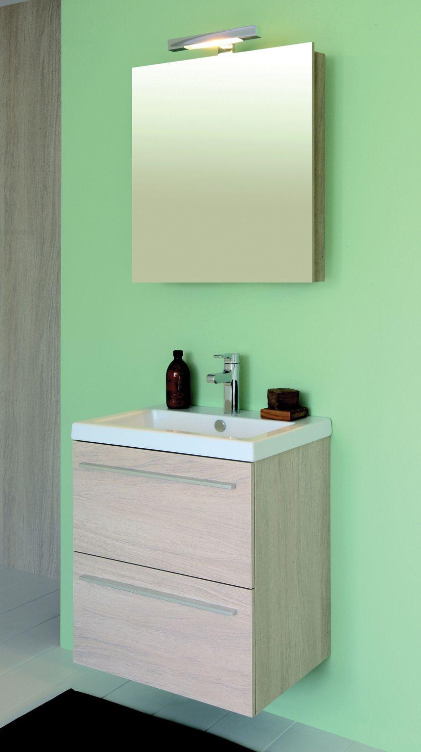 Meuble vasque salle de bain sanijura Meuble vasque pour petite salle de bain