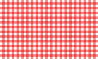 Free Stock Photo Of Red And White Tablecloth Pattern White Table