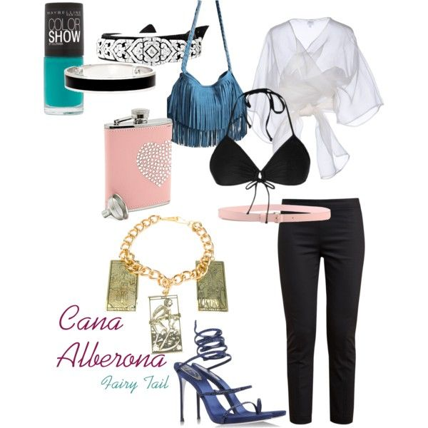 """Cana Alberona"" from the anime series Fairy Tail, by aliazuras on Polyvore"
