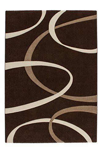 Uberlegen Lalee 347255047 Hochwertiger Designer Teppich Modern Art, 200 X 290 Cm,  Braun / Beige