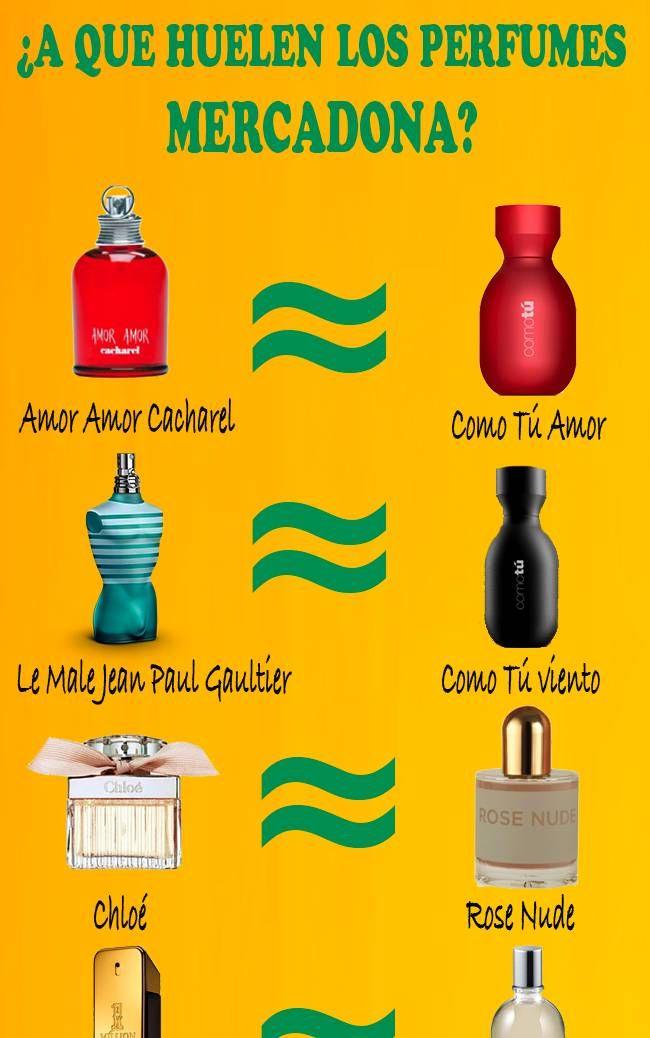 Descubre Las Mejores Equivalencias De Perfumes Mercadona