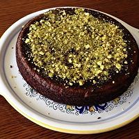 Gluten-Free Orange Almond Cake. Flavorful and supremely moist due to the addition of 2 whole oranges--yes, skin and all! Don't be afraid, it turns out great! The thyme adds a nice, slighty savory note, but you can leave it out or repace it with ginger if you'd like