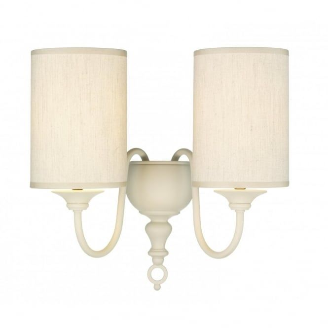 Httpslightingcompanythe david hunt lighting collection get the best price for flemish double wall bracket cream complete with shade from mail order lighting aloadofball Image collections