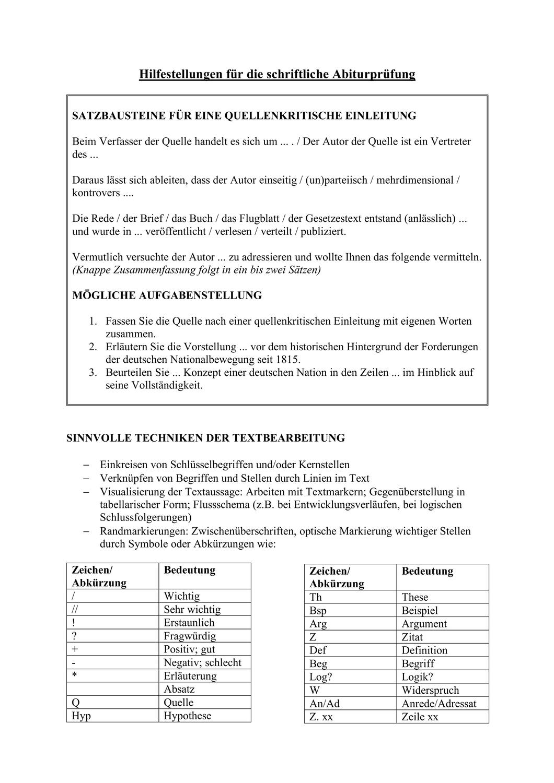 Hilfestellungen Fur Das Abitur Im Fach Geschichte Unterrichtsmaterial Im Fach Geschichte In 2020 Abitur Vorbereitung Geschichte Abitur Erste Hilfe