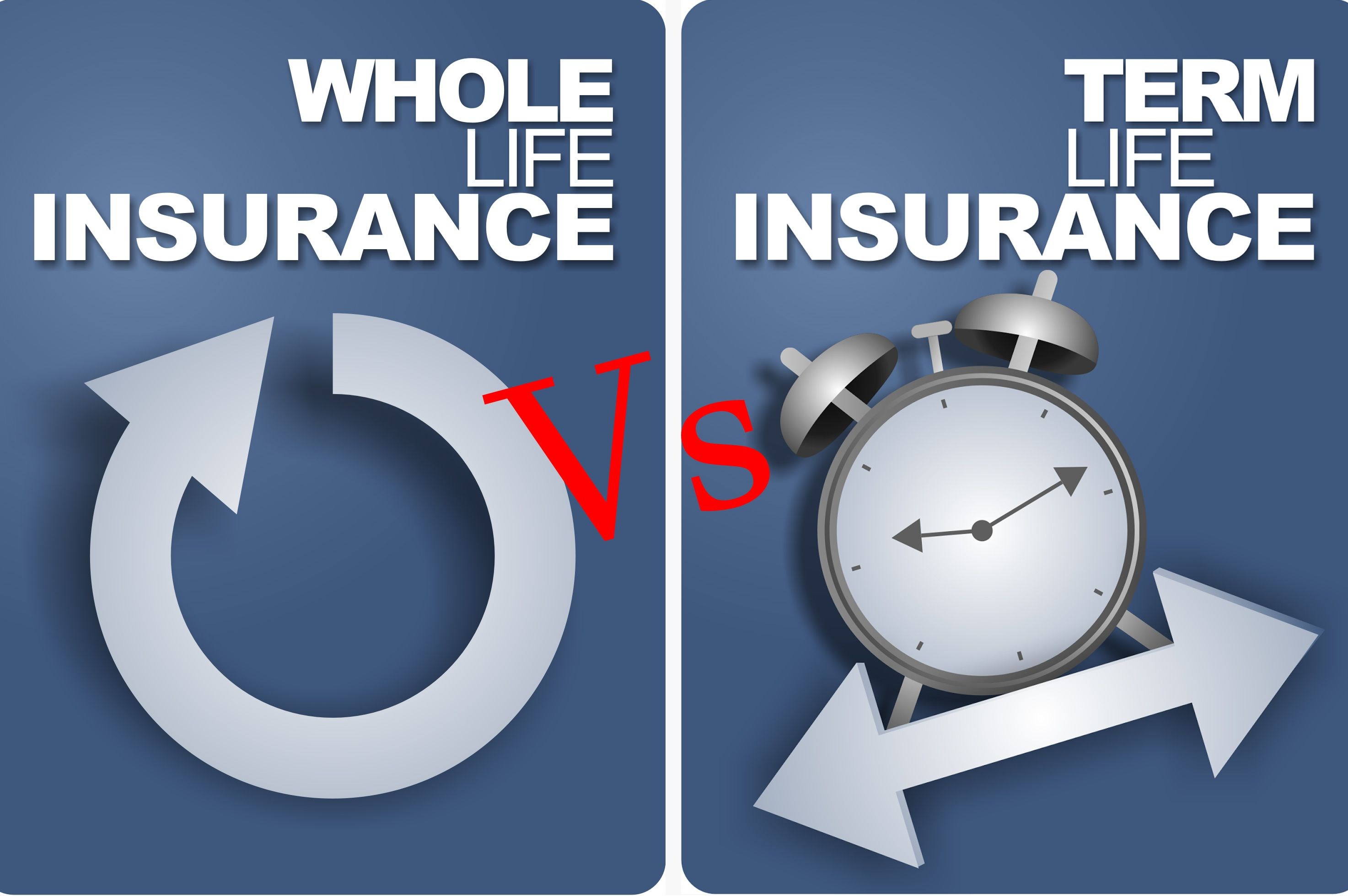 Image result for permanent insurance vs term insurance