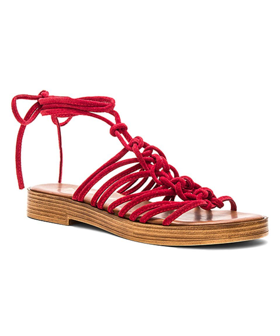 80af14faaa9 Take a look at this Matisse Red Origin Suede Sandal today!