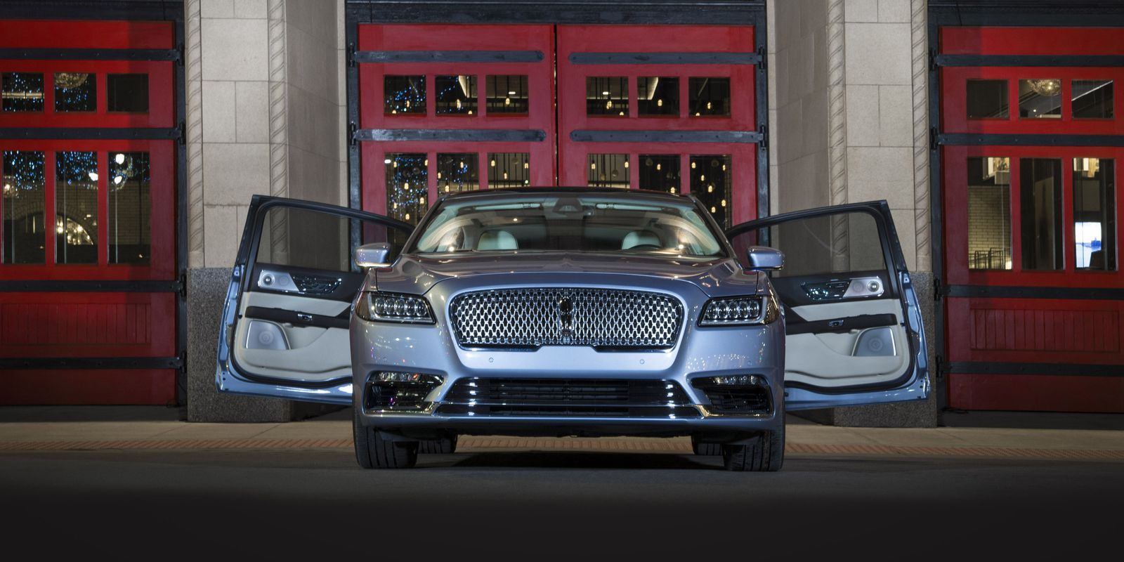 lincoln is really giving the continental suicide doors home rh pinterest com