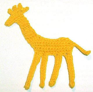 Giraffe Applique by Cecinatrix on Ravelry - FREE download ~ CROCHET