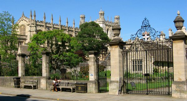 Gate between Merton College and Corpus Christi Oxford