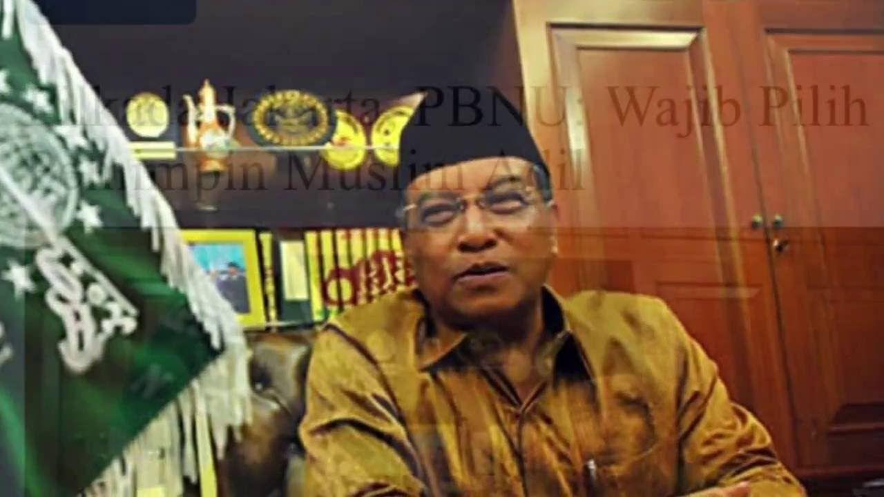 Dalam Sebuah Kesempatan KH Said Aqil Siraj Menyangkal Bahwa