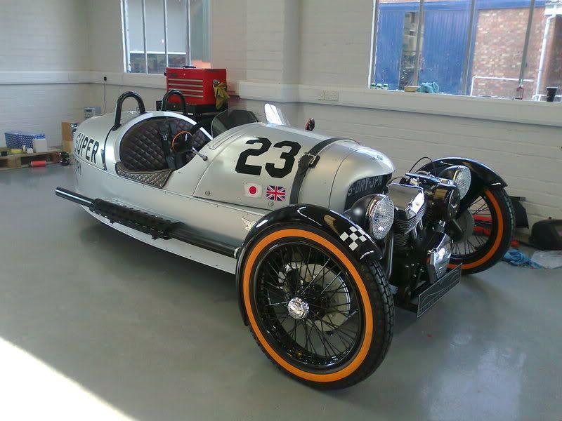 "Morgan ""Super Dry"" 3 wheeler. Only 200 made."
