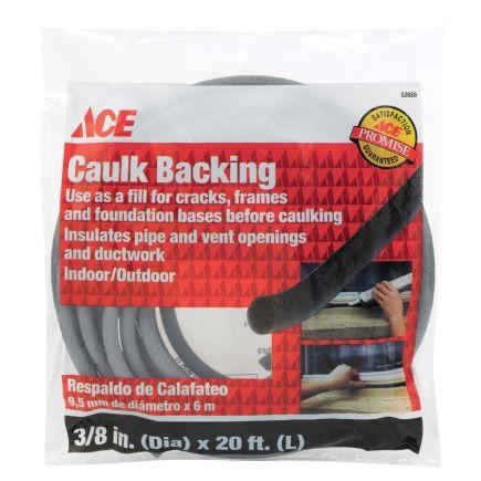 Caulk Saver Foam Rope (238) - Weatherstrip Caulk - Ace Hardware