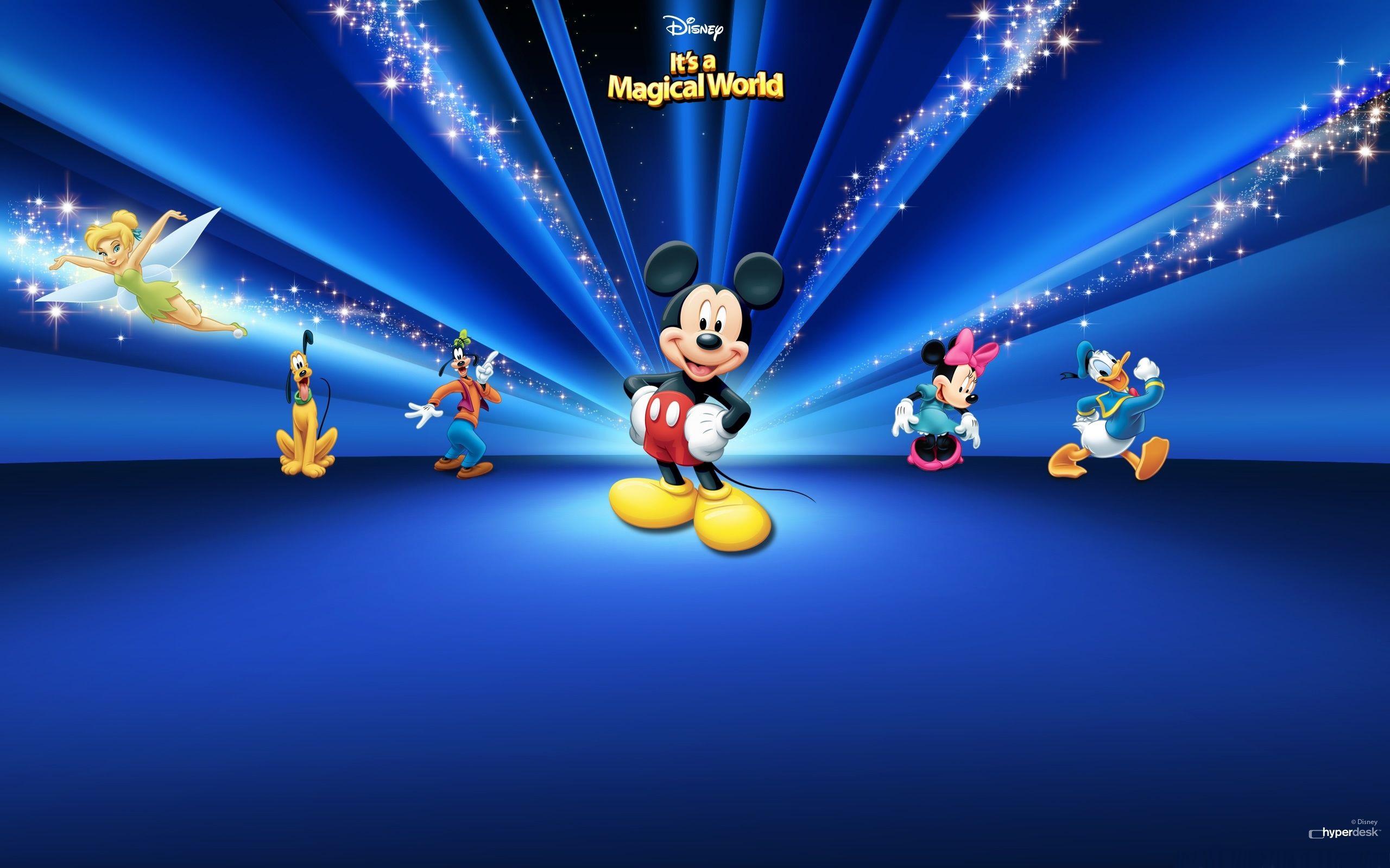 Disney Characters Dark Blue Wallpaper For Macbook Air Disney Characters Wallpaper Disney Desktop Wallpaper Mickey Mouse Wallpaper