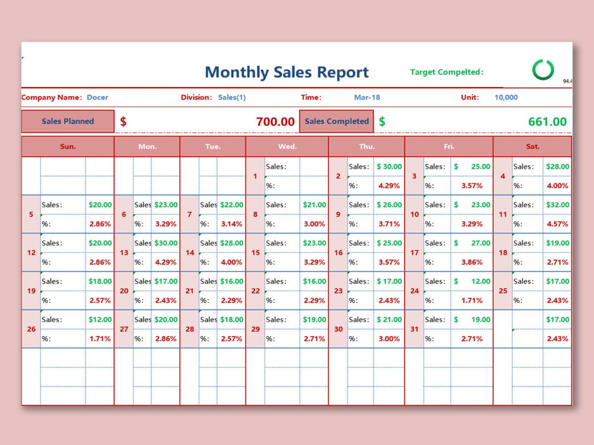 Wps Template Free Download Writer Presentation Pertaining To Excel Sales Report Template Free Sales Report Template Templates Free Download Report Template