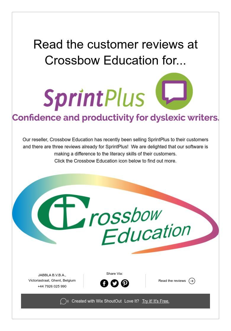 Read the customer reviews at Crossbow Education for...