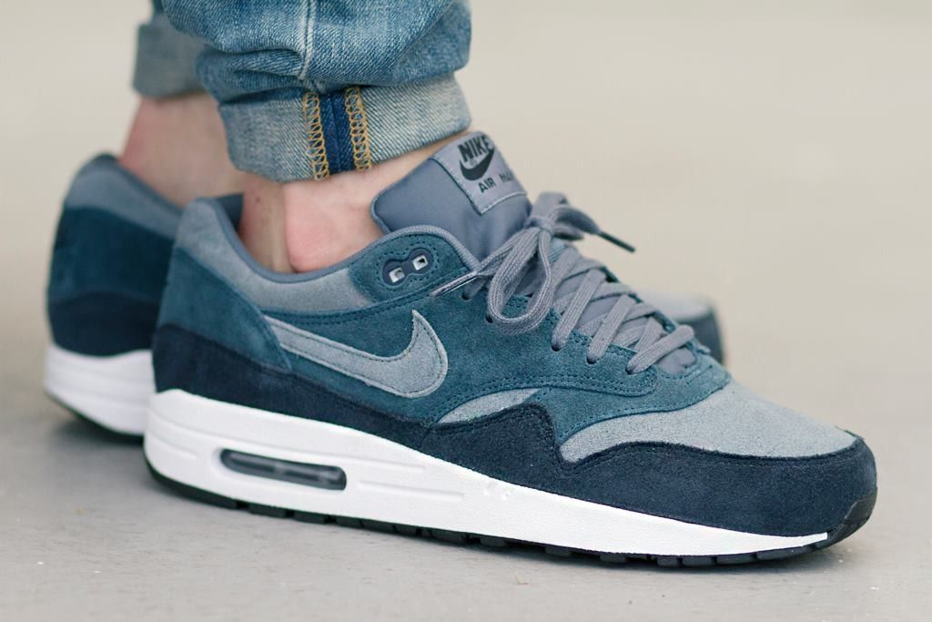 Nike Air Max 1 Essential Leather (Armory Slate)