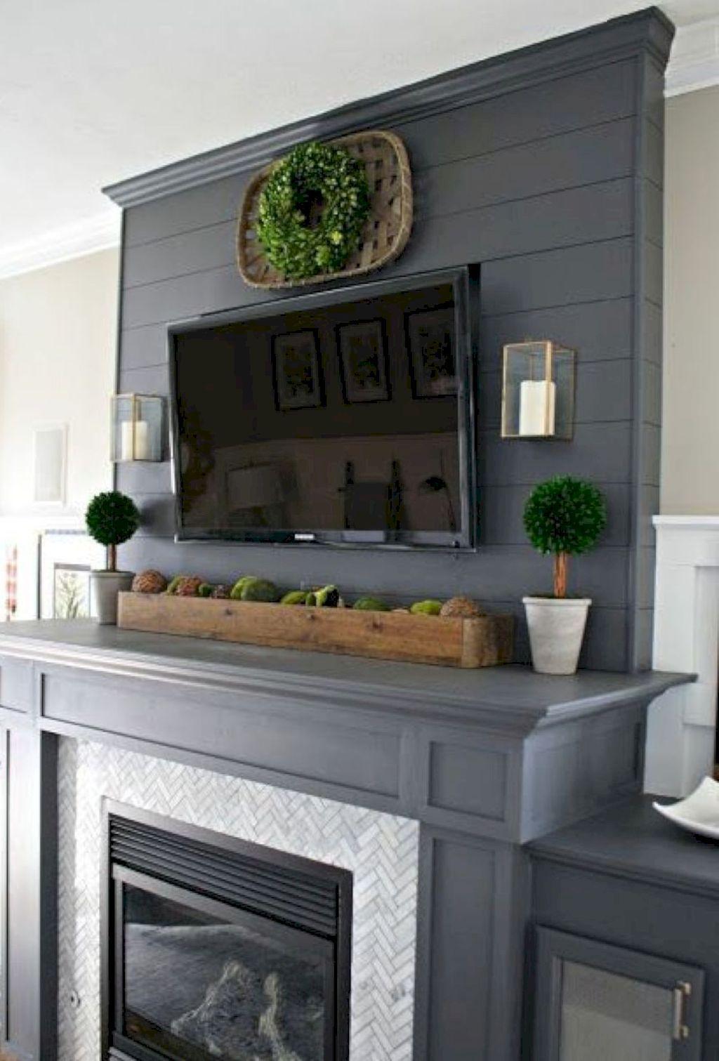 Fresh Farmhouse Home Decor Ideas in Living room
