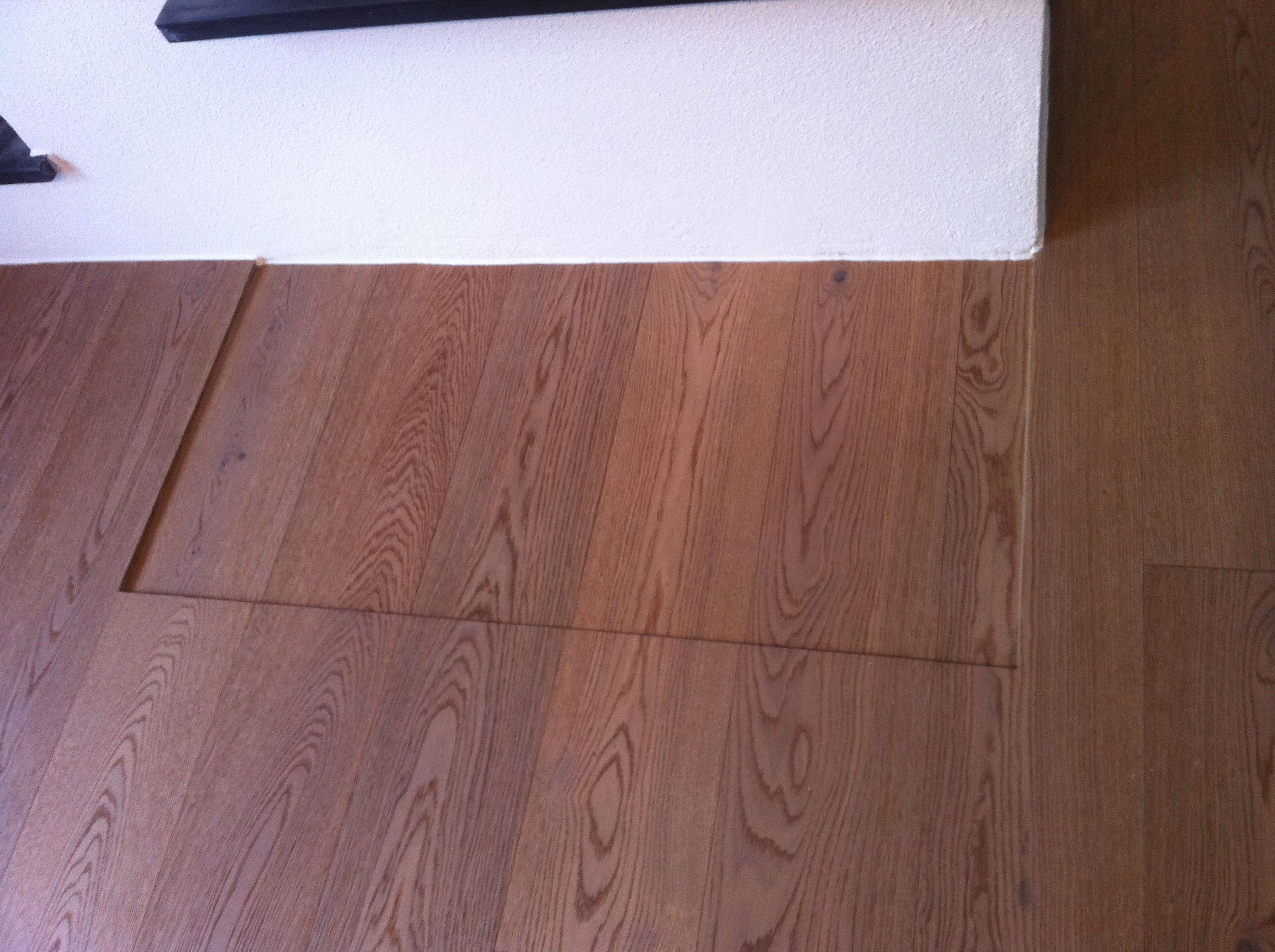 parkettboden vor ofen eine etage tiefer f r glasplatte die dann b ndig ist fa saida ihr. Black Bedroom Furniture Sets. Home Design Ideas