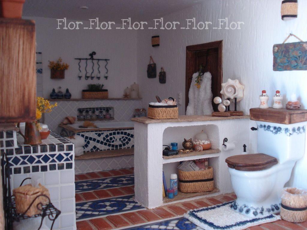 Mini cuarto de baño decoración vaso jabonera donante casa de muñecas miniaturas 1:12
