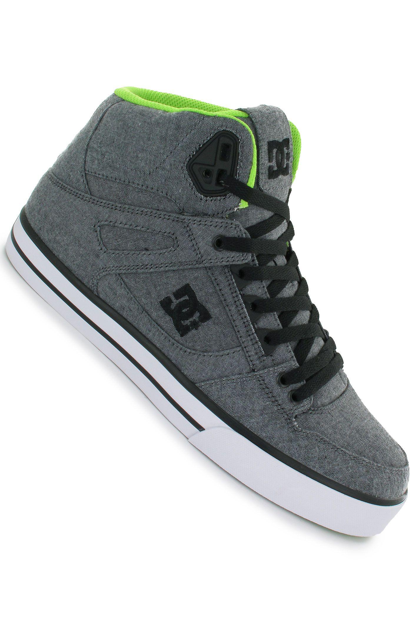 DC Spartan High WC TX SE Chaussure (grey resin rinse)