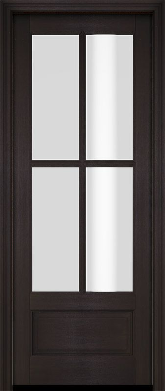 Colonial Exterior Interior Door 1 3 4 By Us Door More Inc In Single Door Made Of Wood And The Pattern Is Mahogany G75 In 2020 Single Doors Doors Interior Interior